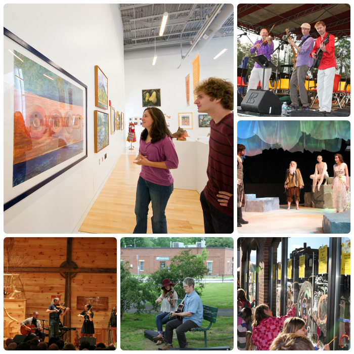 "Franklin County, an ""oasis of arts and culture!"""