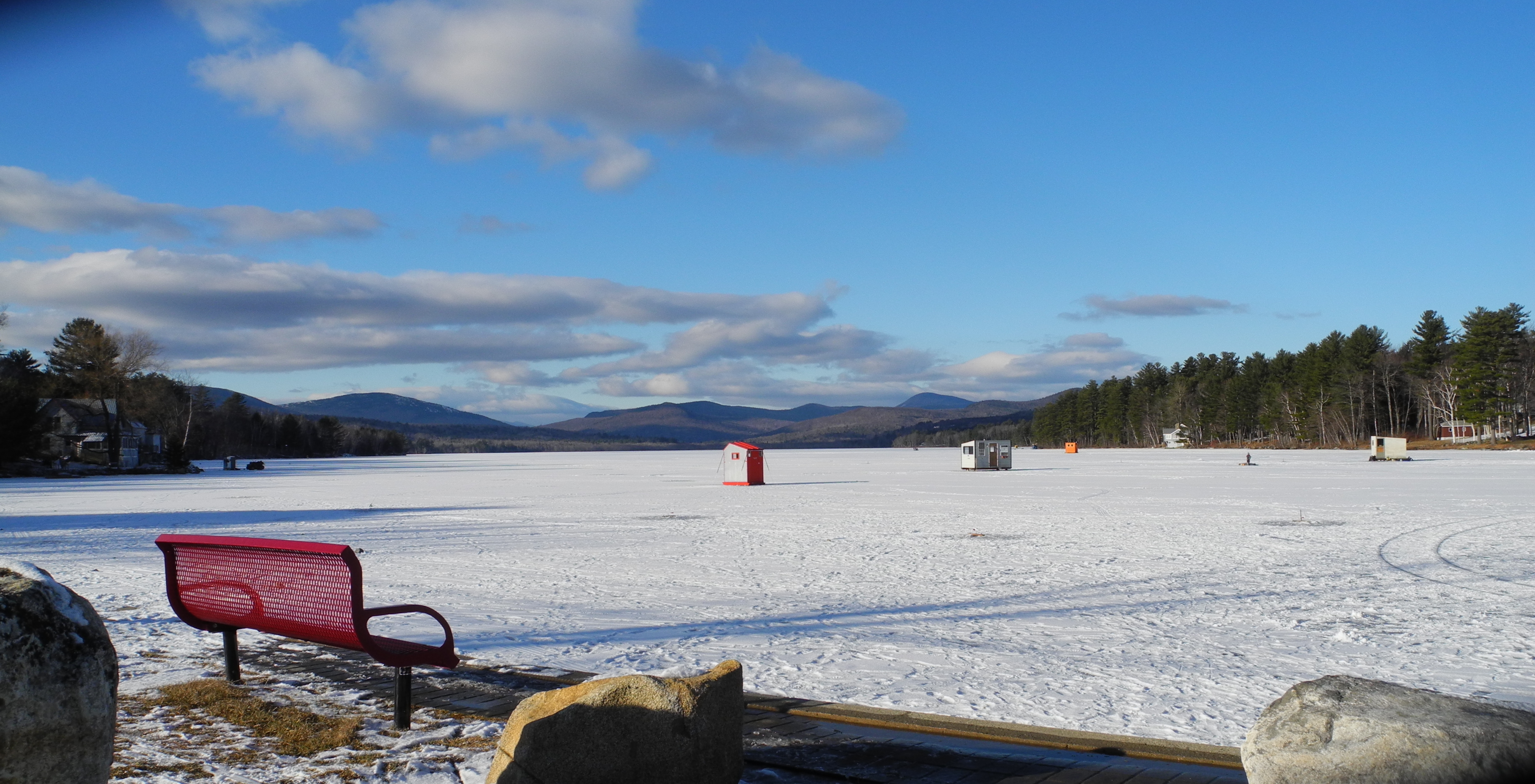 Ice Fishing on Wilson Lake
