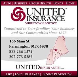 United Insurance Shiretown Agency, Farmington, Maine