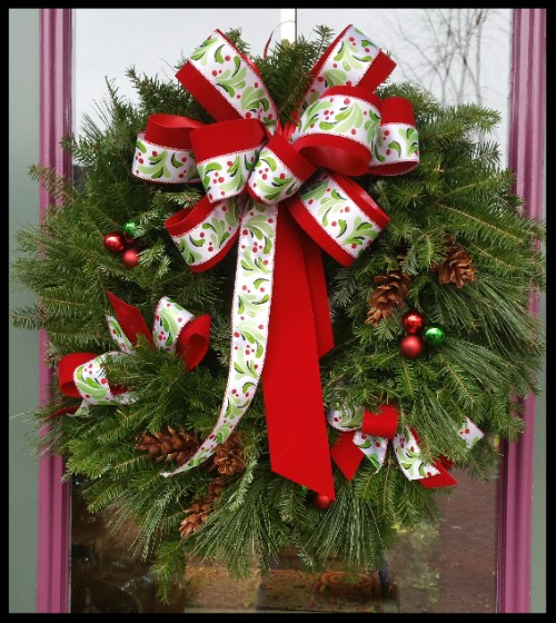 wreath from Robins Flower Pot